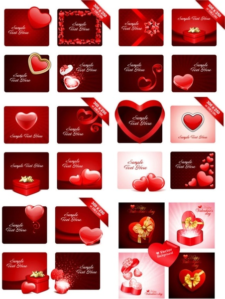 practical elements of vector 2 valentine day
