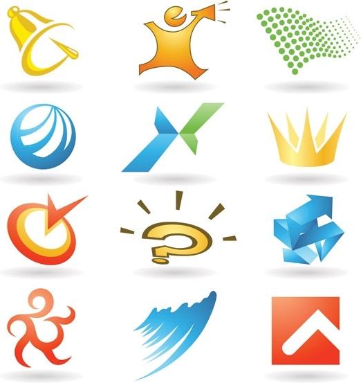 practical logo template vector 2 graphics