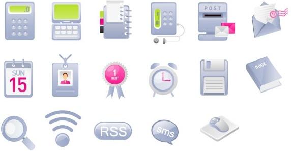 practical web design icon vector