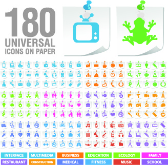 practical web icons vector set