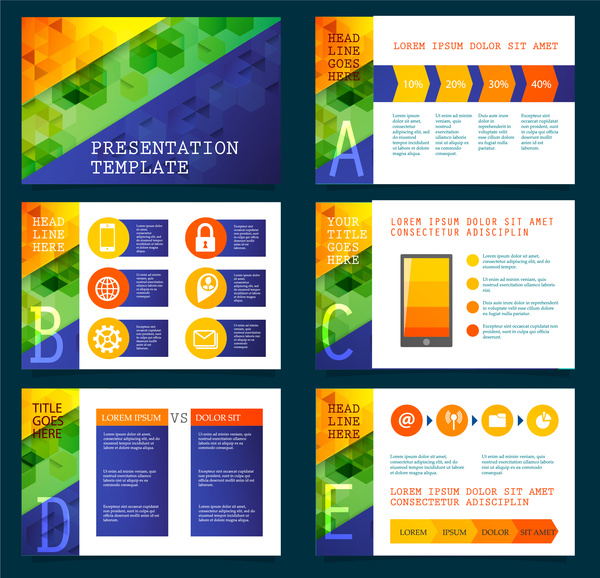 Presentation template vector illustration with colorful modern presentation template vector illustration with colorful modern background maxwellsz