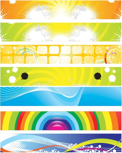 decorative background templates bright colorful modern abstract decor
