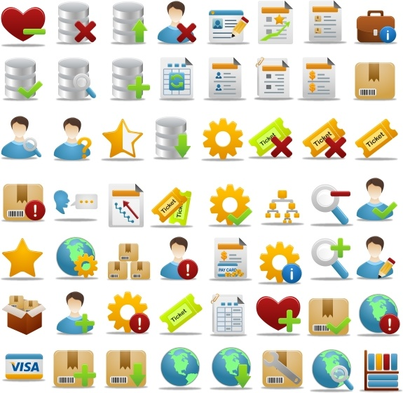 Pretty Office Icon Part 3 icons pack