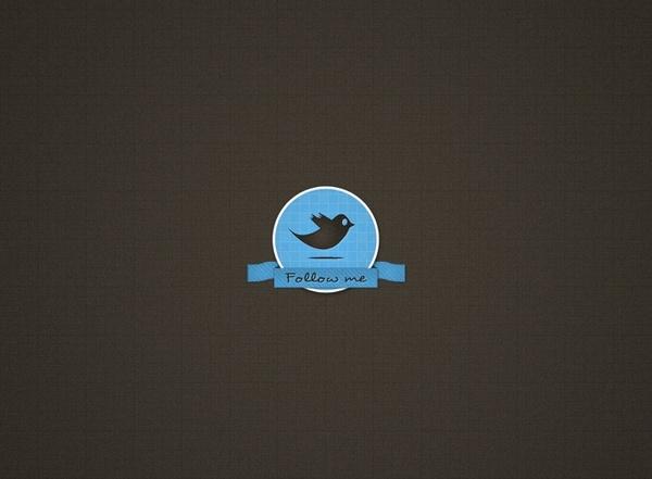 Pretty Twitter Badge