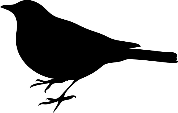 Profile Of A Bird clip art Free vector in Open office ...