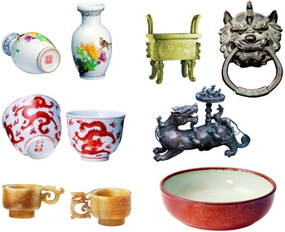 psd heritage antique porcelain