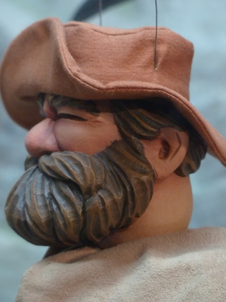 puppet man bearded