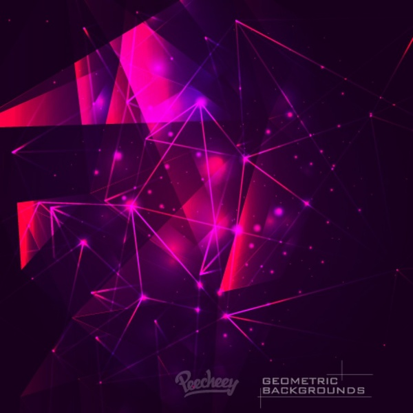 Purple Abstract Background Free Vector In Adobe Illustrator