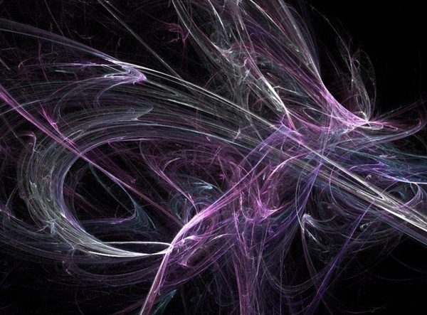 purple and blue fractal