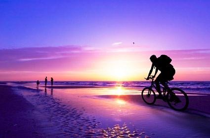 purple dusk picture