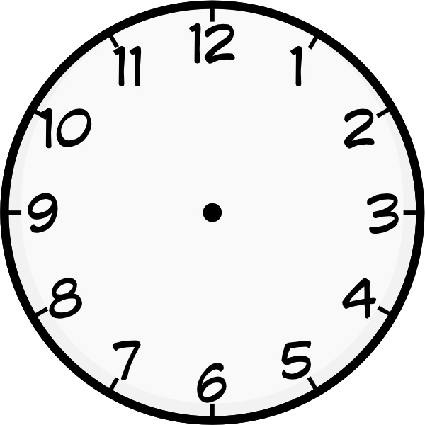 purzen clock face clip art free vector in open office drawing svg rh all free download com digital clock clipart for teachers free clock clipart for teachers