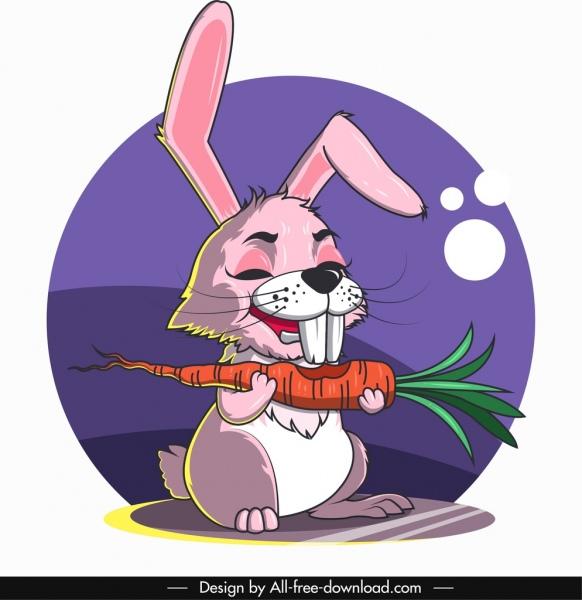 rabbit avatar cute cartoon character sketch