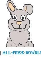 Rabbit Sitting 1