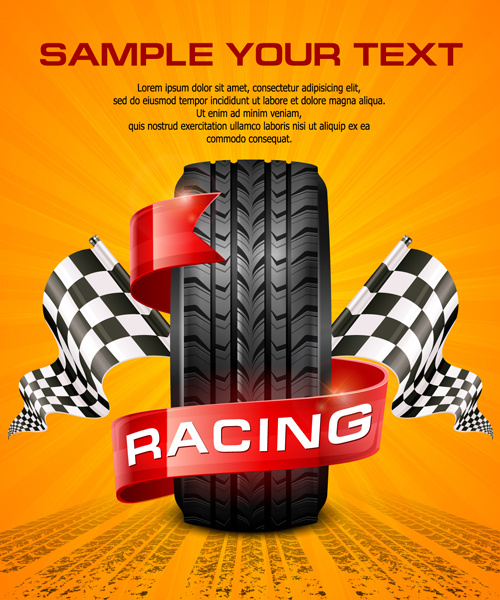 Racing Car Graphic Art Poster: Car Racing Poster Free Vector Download (8,569 Free Vector