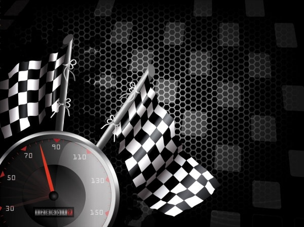 racing theme background pattern 04 vector