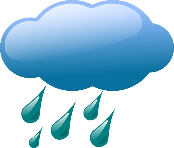 Rain Cloud Clip Art Free Vector In Open Office Drawing Svg