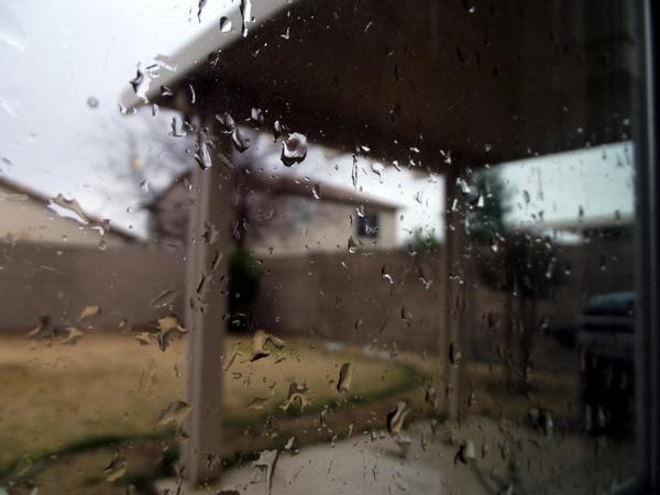 rain on window 1