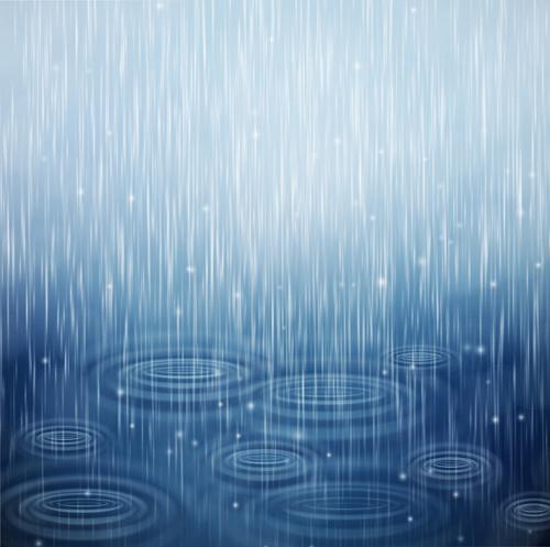 rain water blurs background vector