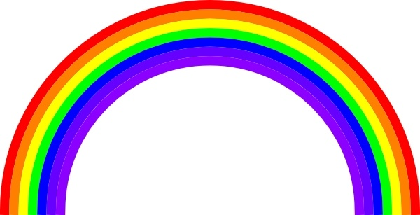 Rainbow Clip Art Free Vector In Open Office Drawing Svg Svg Vector Illustration Graphic Art Design Format Format For Free Download 57 08kb