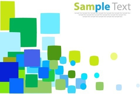 Random Colored Square Vector Background Free Vector In Encapsulated