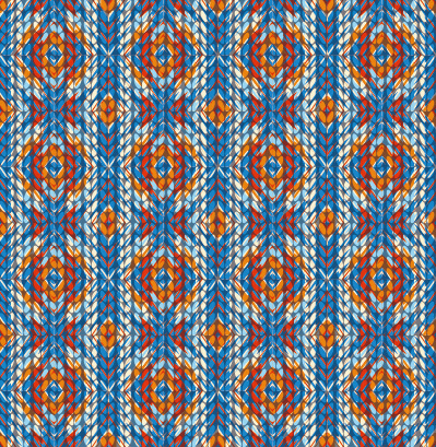 Realistic Knitting Textured Pattern Vector Free Vector In