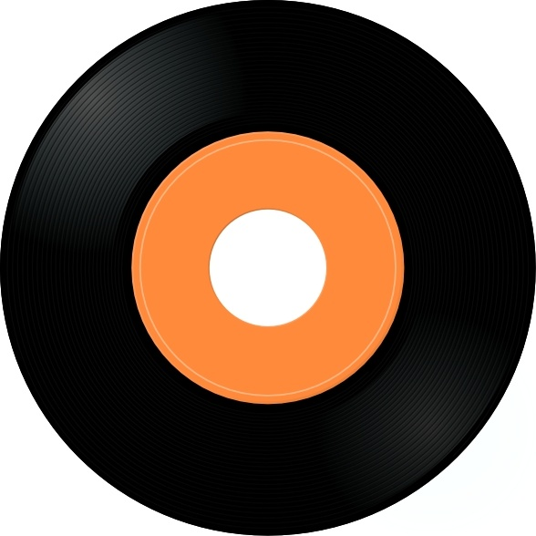 Record Album clip art Free vector in Open office drawing ...