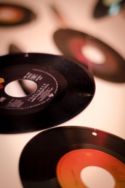 records on a string