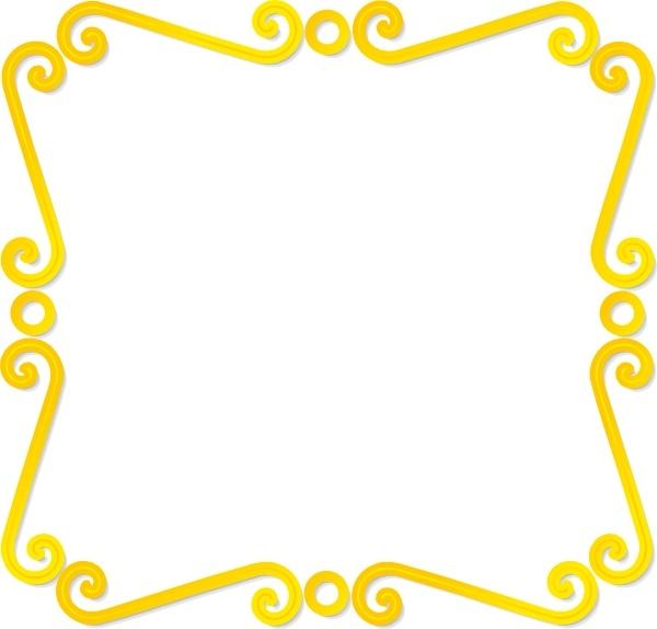 rectangular border clip art