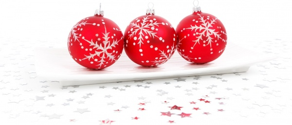 red bauble decoration