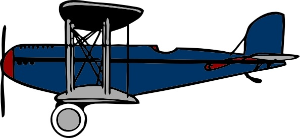 red blue biplane clip art free vector in open office drawing svg rh all free download com