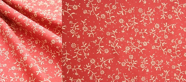 red floral cloth background of highdefinition picture 2p