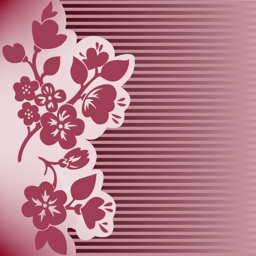 red pattern background 02 vector