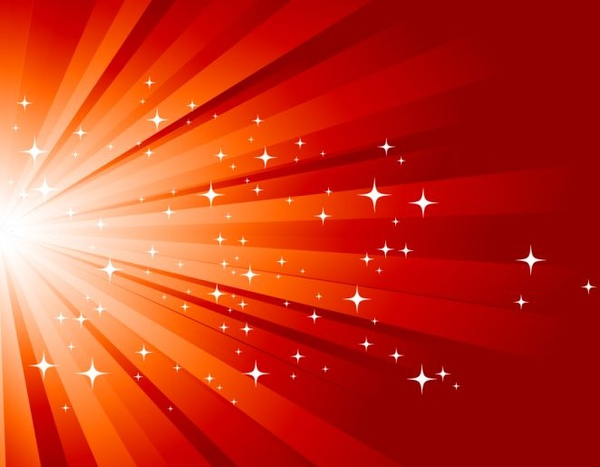 red starburst background free vector in encapsulated postscript eps