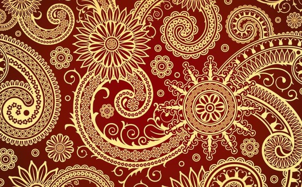 classical pattern background traditional style decoration red ornament