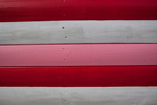 red white and pink
