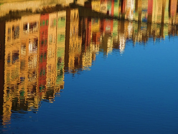 reflection water canal