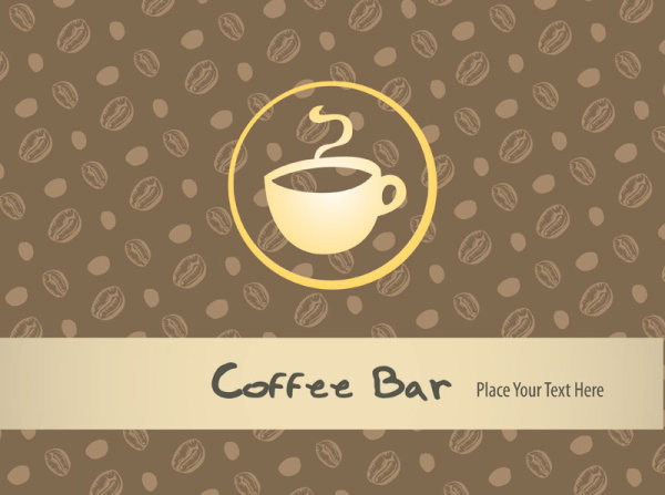 restaurant menu cover background vector