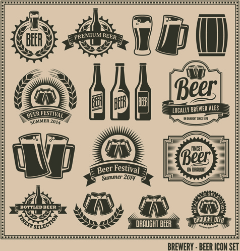 beer label vector free vector download (8,361 free vector) for