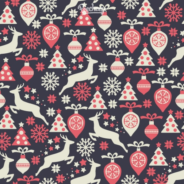 Christmas patterns vector set free vector in encapsulated.