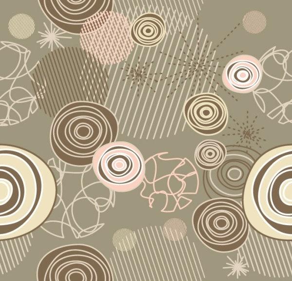 retro pattern background 01 vector