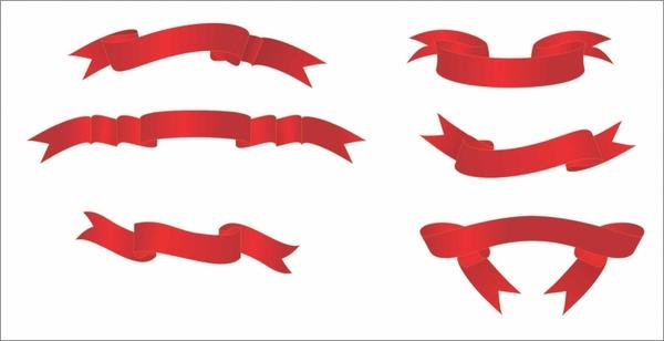 Ribbon Banners set