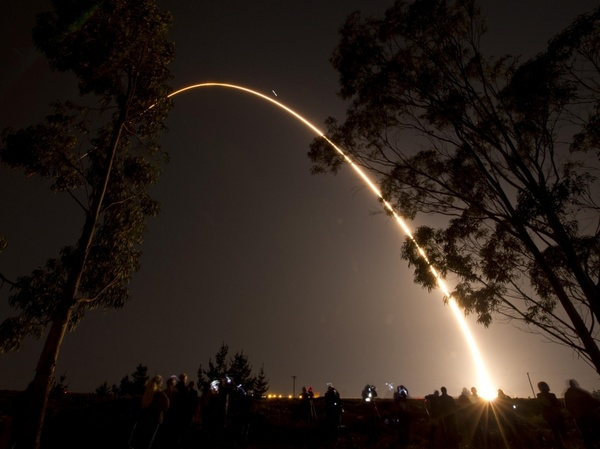 rocket launch california
