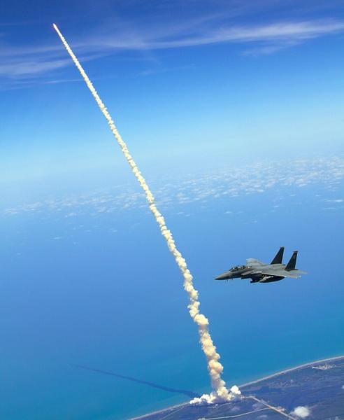 rocket launch space shuttle atlantis