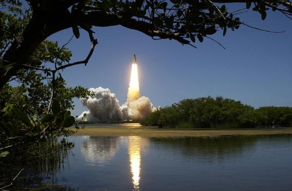 rocket lift-off liftoff