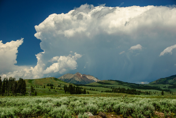 rocky mountain thunderstorms