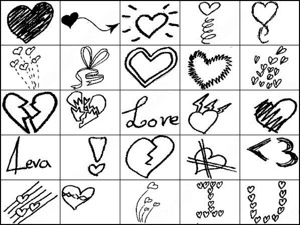 romance doodles brush