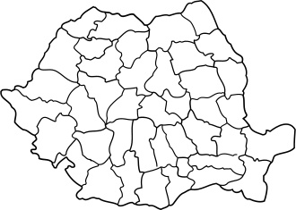 Romania Map Bw Free Vector In Open Office Drawing Svg Svg