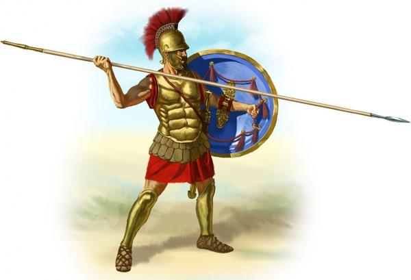 romans gladiator spear