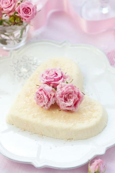 romantic heartshaped cake hd picture