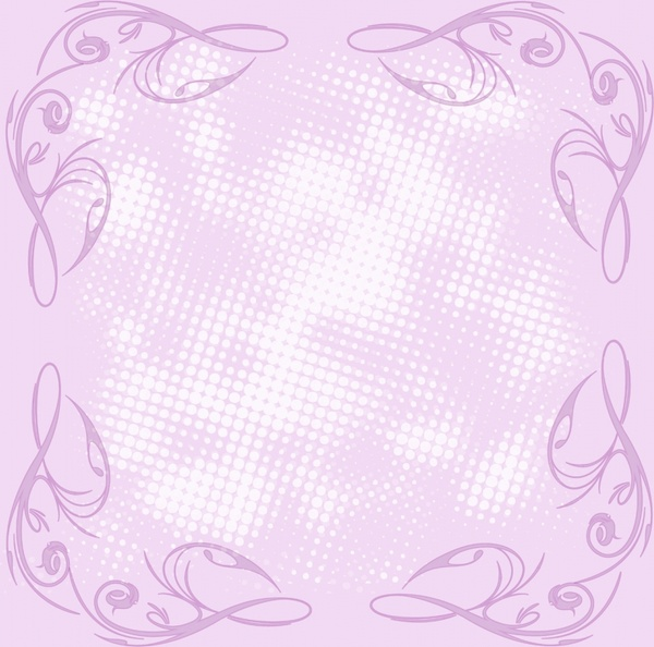 romantic lilac background